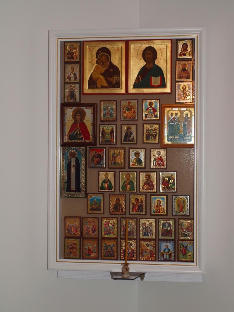 Как своими руками сделать иконостас дома своими руками фото 15
